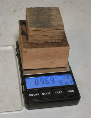 weighing both blocks