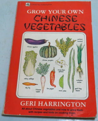 garden planning uses books like Grow Your Own Chinese Vegetables