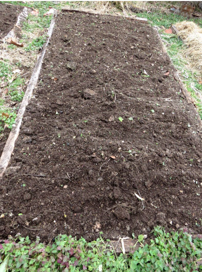 growing older gardening trick: build your soil with compost and mulch