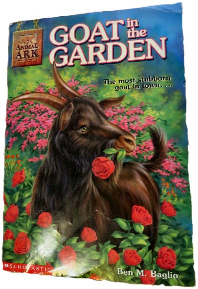 "goat books include ""Goat In the Garden"""
